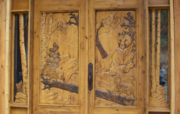 Masterpiece Wood Carved Doors