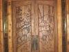 Carved Door- Entryway