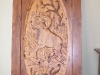 Carved Door- Bighorn