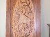 Carved Door- Bighorn