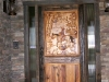 Carved Cowboy Door