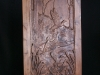 Carved Door- Duck Scene