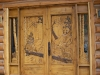 Carved Door- Mountain Lions