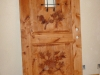 Carved Door- Pine Boughs