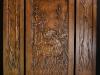 Carved Walnut Door- Moose