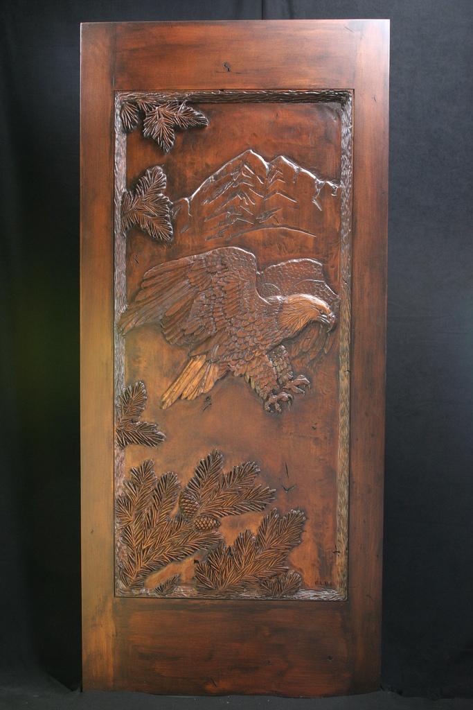 Carved Door- Eagle