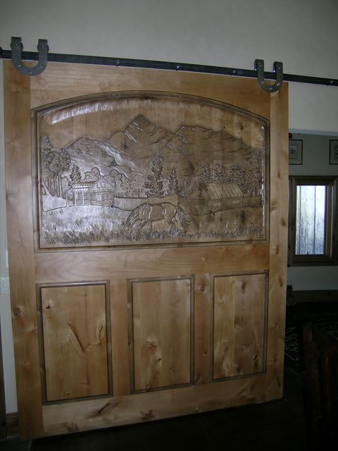 Carved Door- Wilson View