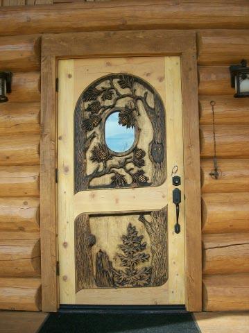 Carved Door- Woods