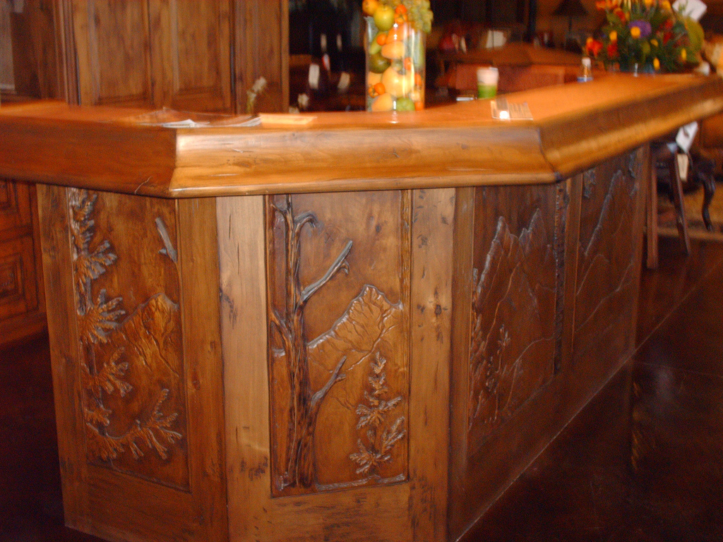 Bon Carved Bar Panel
