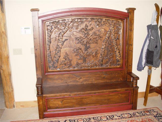 Furniture-Tree Bench