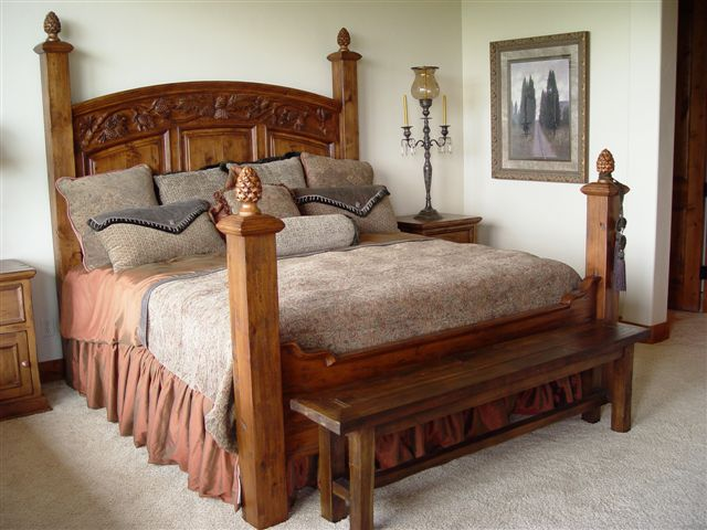 Pine Bough Bed