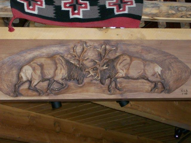 Dueling Bulls Mantle