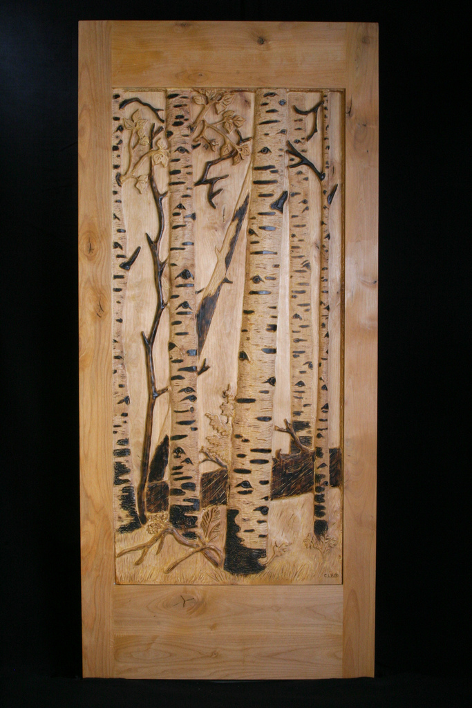 Carved Door- Aspen