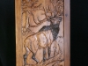 Carved Door- Elk