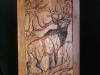 Carved Door- Elk