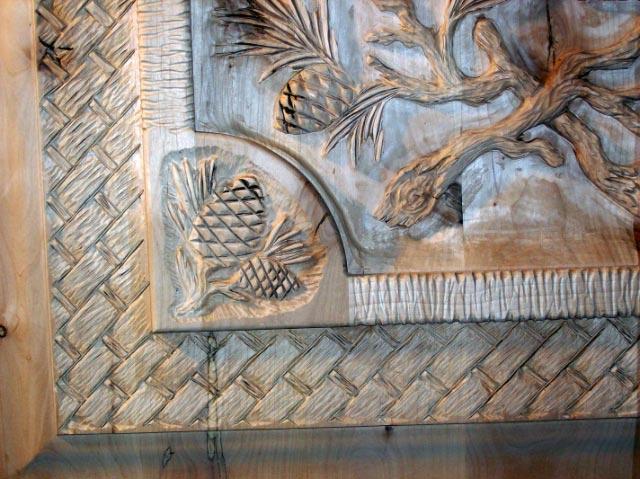 Basket Weave Carving