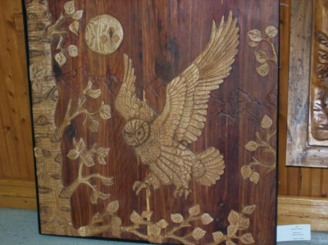 Night Owl Carving